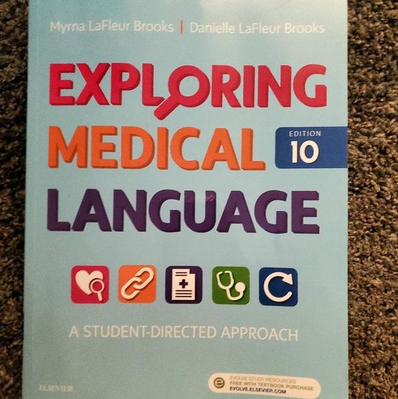 Exploring Medical Language 10th Edition LIKE NEW
